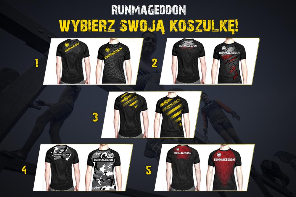 023d1b4bf Wybierz swoją koszulkę! - Runmageddon | Ekstremalny bieg z ...